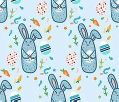 gelukkig pasen konijn