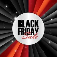 Black Friday-verkoop vector