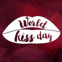 wereld kus dag