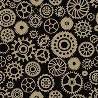 steampunk tandwielen naadloze patroon vector