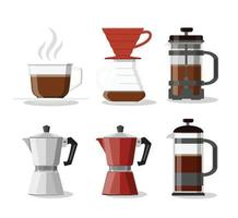 koffiezetapparaat set