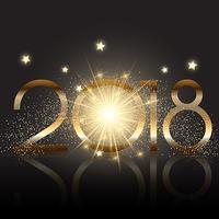 Glittery Gelukkig Nieuwjaar achtergrond vector