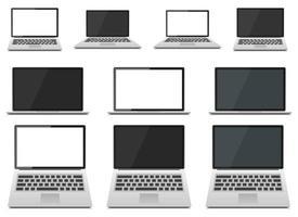 laptop apparaat vectorillustratie ontwerp geïsoleerd op een witte achtergrond