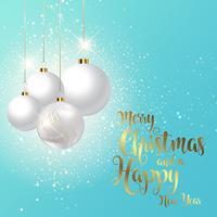 Decoratieve kerst achtergrond