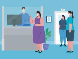 sociale afstand nemen binnenshuis