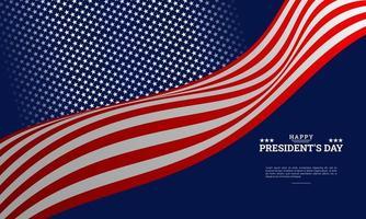 president's day achtergrond vector