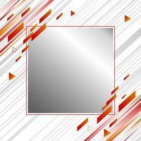 abstract bannerontwerp als achtergrond van bewegingssnelheid en geometrische vectorillustratie