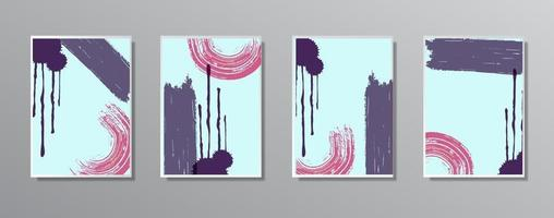 set van creatieve minimalistische hand getrokken vintage neutrale kleurenillustraties, voor muur. voor cadeaubon, poster op muurpostersjabloon, bestemmingspagina, ui, ux, coverbook, baner,