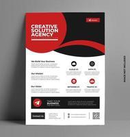 vector brochure folder sjabloon vector.