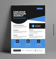 brochure folder lay-out sjabloon. vector