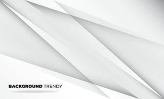 abstracte grijze en witte tech geometrische huisstijl achtergrond voor cadeaubon omslag poster, poster op muur poster sjabloon, bestemmingspagina, ui, ux, coverbook, baner, sociale media geplaatst