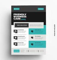 creatieve brochure folder sjabloon