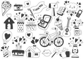 Valentijnsdag illustratie vector voor banner