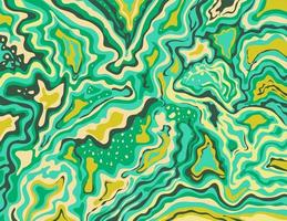 aquamarijn artic lime groen inkscape suminagashi kintsugi japanse inkt marmering papier art