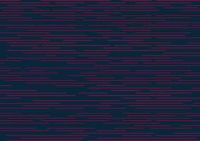 abstract gestreept horizontaal patroon van snelheid roze lijnen. minimale ontwerpstreep op donkerblauwe achtergrond. vector