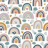 regenboog naadloze patroon vector