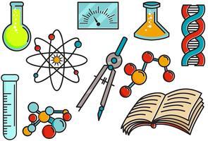 wetenschapsbeurs 2 vectoren