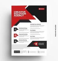 print flyer-sjabloon vector