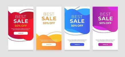 abstracte vloeibare beste verkoop 50 korting op ontwerp vector