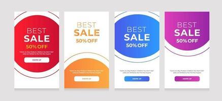 abstract ontwerp beste verkoop 50 korting vector