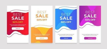 vloeibare stijl achtergrond beste verkoop 50 korting op ontwerp vector