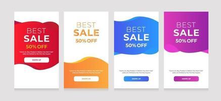 ontwerp abstract beste verkoop 50 korting vector