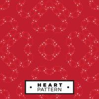 Valentijnsdag hart naadloze patroon