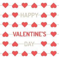 fijne Valentijnsdag vector