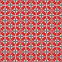 naadloos batikpatroon. batik kawung in moderne look. vector