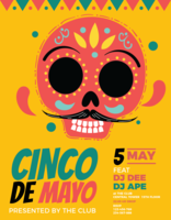 Cinco de Mayo-poster vector