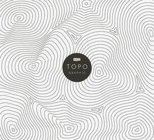 abstracte zwarte cirkel lijn mesh omslagontwerp. digitale contourcurve punt- en lijnrimpel en golf met draadframe. futuristisch technologieconcept. modern topografisch ontwerp. vector illustratie
