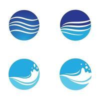 water wave logo afbeeldingen