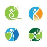 wellness logo afbeeldingen ontwerp