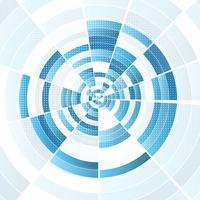Abstract technoontwerp vector