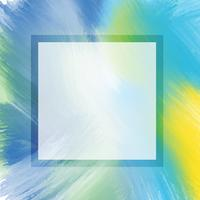 Abstracte waterverfachtergrond vector