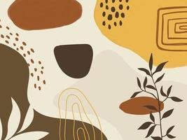 abstracte achtergrond. tropische bloem mode patroon vector