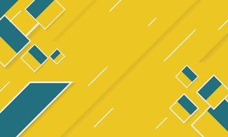 abstracte geometrische diagonale gele achtergrond vector