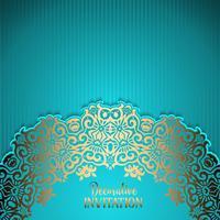 Decoratieve uitnodigingsachtergrond vector