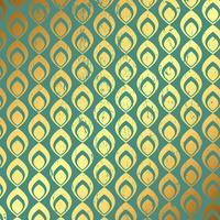 Grunge goud en blauwgroen patroon achtergrond vector
