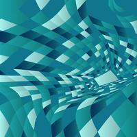 Abstracte warp achtergrond vector
