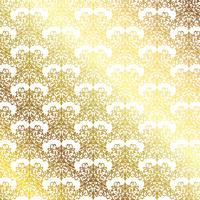 Gouden patroonachtergrond vector