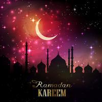ramadan achtergrond 1605 vector