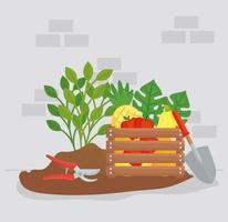 tuinieren levert vector ontwerp