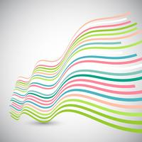Abstracte golfachtergrond vector