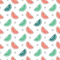 naadloze veelkleurige en glitter fruit patroon achtergrond vector