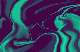 abstracte duotoon vloeibare marmeren textuurachtergrond. trendy agaat marmerbehangontwerp met natuurlijke luxe stijlwervelingen van marmer vector