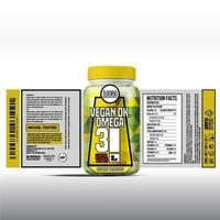 fles labelontwerp, verpakking ontwerpsjabloon, labelontwerp, mock up design label gratis vector sjabloon