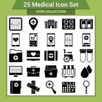medische pictogramserie vector