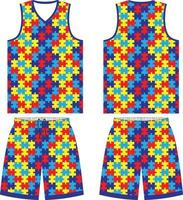 custom design basketbal uniformen sport jersey shorts vector