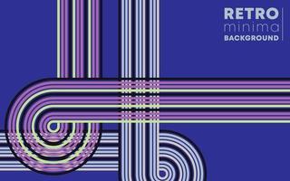retro ontwerpachtergrond met uitstekende rassenbarrières. vector illustratie